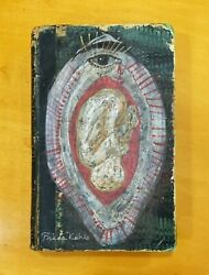 Frida Kahlo Oil Painting On Book And Drawings