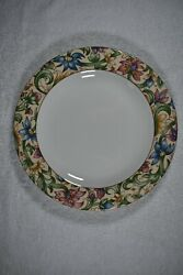 Royal Doulton Everyday Jacobean Dinner Plate 10 3/4 Inch, Tc 1216, Fine China