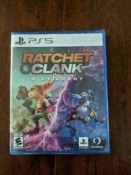 New Ratchet And Clank Rift Apart - Sony Playstation 5 Ps5 Disc Sealed Shipsnow