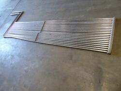 Used Heating Cooling Coil - Stainless Steel 18lx144wx30h Grid Heating Coil Hc