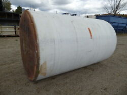 Used Cylindrical Tank - 1500 Gallon Poly Round Tank-tanks-cylindrical