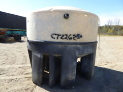 Used Cylindrical Tank - 1650 Gallon Poly Round Tank-tanks-cylindrical