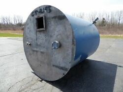Used Cylindrical Tank - 1885 Gallon Stainless Steel Round Tank-tanks-cylindrical