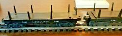 Lionel 3461 Log Car Lot In Fair To Good Cond.