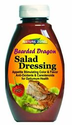 Nature Zone Salad Dressing for Bearded Dragons Wet Food 12 fl oz