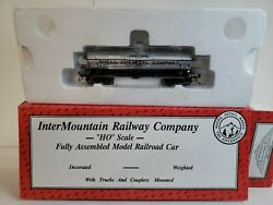 Ho Scale Intermountain 46302-02 Acf Type 27 Riveted 8k Gal. Tank Car Rd 891.