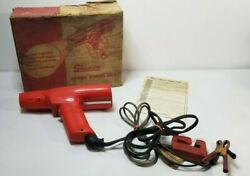 Vintage Snap-on 12v Engine Power Timing Light Mt-212 Complete In Box Manual Usa