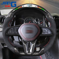 The Newest Led Carbon Fiber Steering Wheel Fit For 2017+ Nissan Gtr