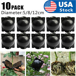 10x Plant Rooting Device High Pressure Propagation Ball Graft Boxes Grow 5cm/8cm