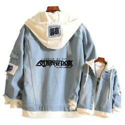 Jackets Jeans Coats Teenagers Menand039s Anime Steinsgate Cosplay Hooded Casual
