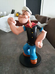 Extremely Rare Popeye Classic Standing Figurine Statue
