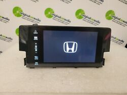 2016 - 2018 Oe Honda Civic Navigation Display Touch Screen Only