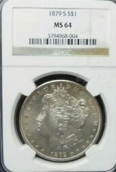 1879-s Morgan Dollar Ngc Ms64  Dollar Prices Are Going Up