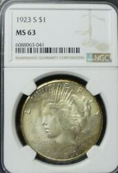 1923-s Peace Dollar Ngc Ms63  Dollar Prices Are Up