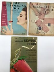 Lot Of Vogue Dressmaking Books And Vogue Sewing Book Vintage Collectible