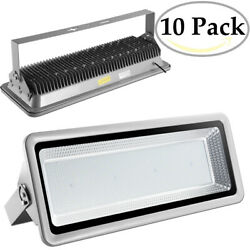 10x 800w Led Flood Lights Cool White Bright Waterproof Ip65 Outdoor Path Fixture