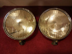 1920and039s Mercedes Headlights Bosch Lensandnbsp Large Approximately 10 Across
