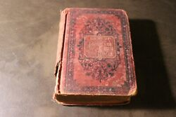 Antique Old French Russian Vocabulary Dictionary Pocket Book Vintage Francais