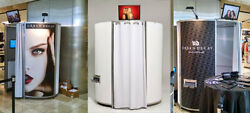 Capture Pod Photo Booth All White Great For Branding