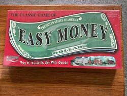 Easy Money 2005 Hasbro Board Game - New In Box Sealed 2-4 Players