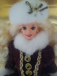 Barbie Doll - Rare - Mattel 15646 Barbie Happy Holidays 1996 Special Edition