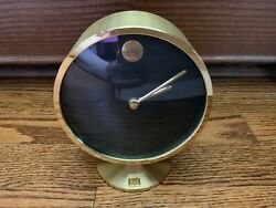 Working Howard Miller Quartz Nathan George Horwitts Museum Eclipse Clock Eames