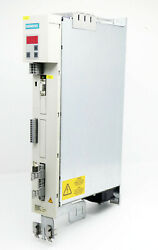 Siemens Masterdrives Vc 6se7015-0ep60 6se7 015-0ep60 Ver D Ac/ac Drive -used-