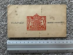 Very Rare Ww2 British Raf And Special Forces Sas Blood Chit Escape Evasion Africa