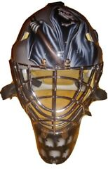 Olie Goalie Mask Ice Hockey Certified Reaper Death Drawing Sr Small Size