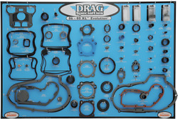 Drag Specialties Gasket Seal And O-ring Display For Xl Evolution Motors 0934-1667