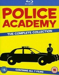 Police Academy Complete 1980s Movie Series 1-7 Blu-ray Set Collection Film Lot And