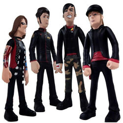 Fall Out Boy Collectible 2006 Sota Toys Fob Band Figures Boxed Set And Mini Poster