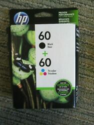HP 60 Black amp; Color Combo Pack of Inkjet Cartridges Multiples Available 7 2020 $24.00