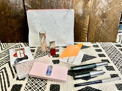 New Clinique Makeup Gift Set Eye Shadow, Mascara, Liner, Chubby, Lip, Happy.