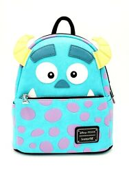 Disney Parks Pixar Monsters Inc. Sully Loungefly Backpack Zipper Closure New