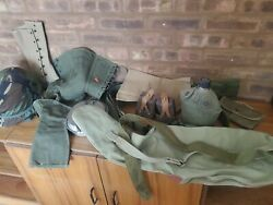Vintage Military Issued U.s. Army Water Canteen Pouches Lc 2 Huge Lot Surplus