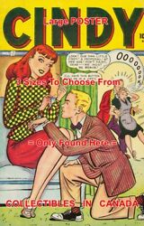 Cindy 1947 Marriage Proposal Sew On Button =poster Comic Book 3sizes 17-18-19