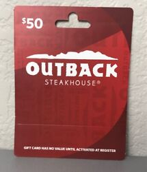 Outback Steakhouse Gift Card 50