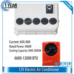12v Dc Air Conditioner Kit 960w R134a,powerful Air Conditioner For Truck Car