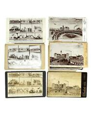Lot Of 7 Cabinet Cards Of Iowa Soldiers' Home Marshalltown 1890-1900 Civil War