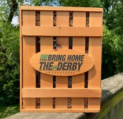2006 TVG Bring Home The Derby Sweepstakes Crate All Original Kentucky Derby