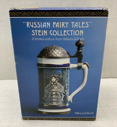 Villeroy And Boch Mettlach Beer Stein Russian Fairy Tales - The Firebird - New