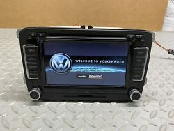 2006-2015 Volkswagen Rns510 Touch Screen Navigation Radio Dynaudio With Code