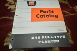 Oliver Tractor 543 Pull Type Planter Parts Book Manual Gvoh