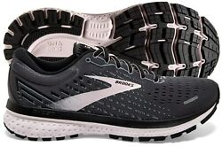 Brooks Ghost 13 Womens Shoe Black/pearl/hushed Violet Multiple Sizes New In Box