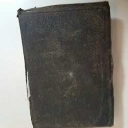 Vintage Holy Bible Oxford Oxford Cyclopedence Concordance Ss Teachers Edition