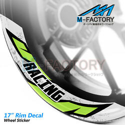 J08 17and039and039 Rim Sticker Strip Tapes Vinyl Decal For Yamaha Mt09 Mt10 Mtt9 Xsr900