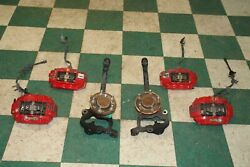 17and039 Charger 392 Brembo Front Brake Calipers And Spindles Hubs Hoses Back Rear