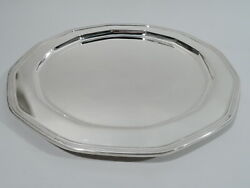 Tray - 20774 - Antique Art Deco Modern - American Sterling Silver