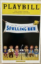 Playbill The 25th Annual Putnam County Spelling Bee Betsy Wolfe Jenni Barber Sf
